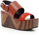 Celine Wedge Sandals