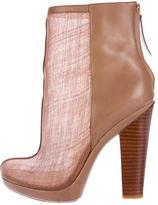 Rachel Zoe Mesh Ankle Boots