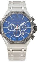 Saks Fifth Avenue Chronograph Stainless Steel Link Watch