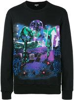 Lanvin Planet Scene print sweatshirt - men - Cotton - XS