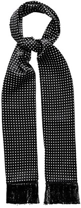 Eton Polka Dot Silk Scarf