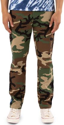 Ovadia Men's Camouflage Side-Stripe Chino Pants