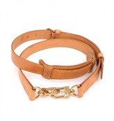 Louis Vuitton very good (VG Brown Cowhide Leather Adjustable Shoulder Strap