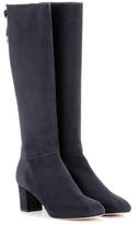 Loro Piana Liza Suede Knee-high Boots