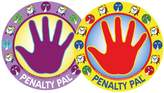 Parking Pal Penalty Pal- Time Out Spot for Kids, Removable Wall Decal