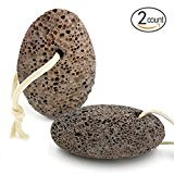 DigHealth Natural Earth Lava Pumice Stone For Foot Scrubber, Foot Pumice To Remove Dead Skin, 2 Pack (Random Color And Shape)
