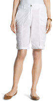 Chico's Casual Roll-Cuff Shorts - 11 Inch Inseam