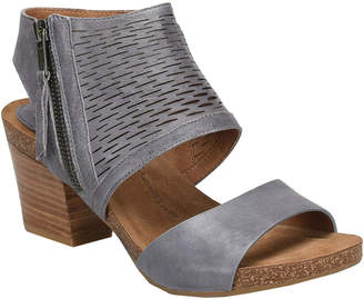 Sofft Milan Heeled Leather Sandal