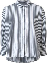 Nili Lotan fine stripe shirt