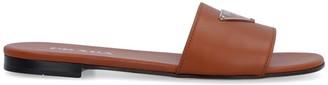 Prada Leather Slides