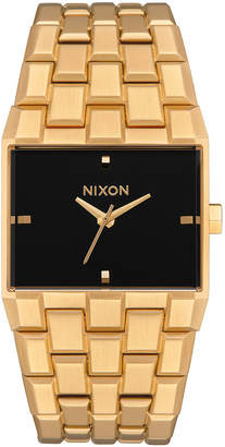 Nixon Women Ticket Stainless Steel Bracelet Watch 34mm