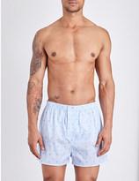 Derek Rose Arlo cotton boxers
