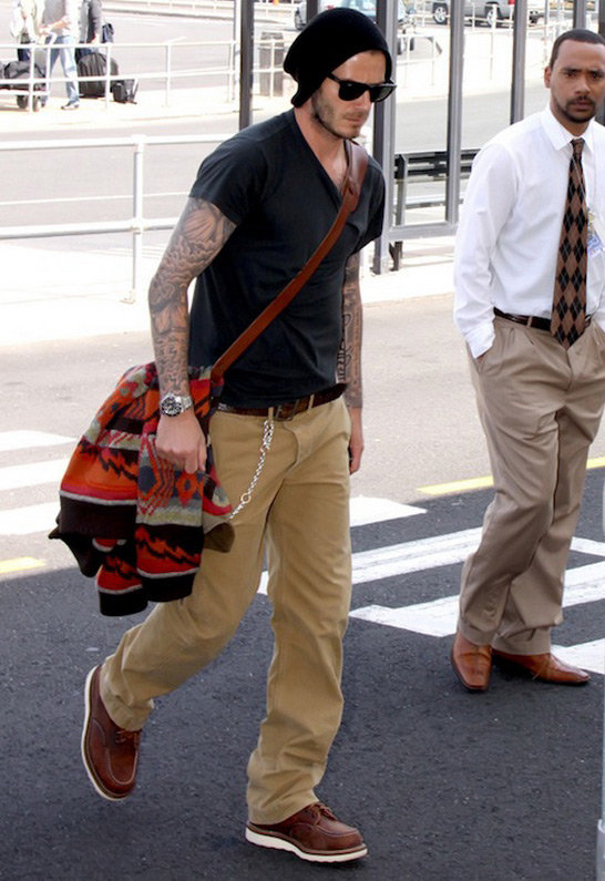 Red Wing Shoes 6 Inch Moc Work Boot - as seen on David Beckham -