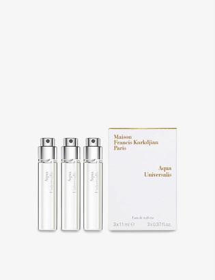 Francis Kurkdjian Aqua Universalis eau de toilette refills 3 x 11ml