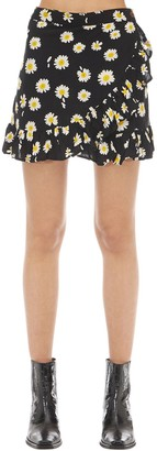 Victoria's Secret The People CAPRI PRINTED RAYON SKIRT