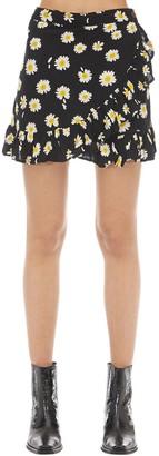Victoria's Secret The People Capri Printed Rayon Skirt