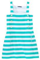 Petit Bateau Women's sleeveless wide-striped dress