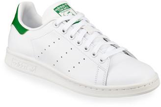 adidas Stan Smith Classic Sneaker, White/Green
