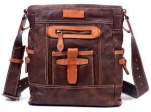 Old Trend Leeds Castle Leather Crossbody Bag
