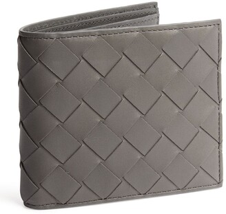 Bottega Veneta Leather Intrecciato Bifold Wallet