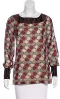 Tory Burch Long Sleeve Wool Blouse w/ Tags