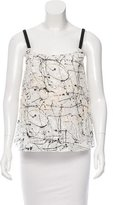 Lisa Perry Sleeveless Embroidered Top
