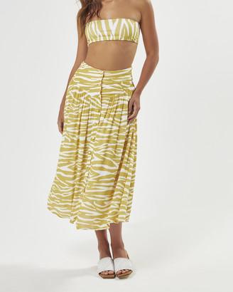 Charlie Holiday Lina Midi Skirt