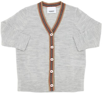 Burberry Merino Wool Knit Cardigan