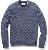 Original Penguin Quilted Crew Neck Sweater