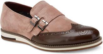 Vintage Foundry Men's Hansen Double-Monk Suede Loafers