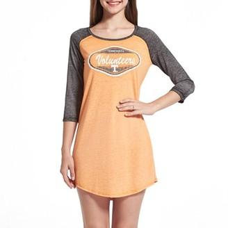 Sideline Apparel By College Concepts Tennessee Volunteers Ladies Nightshirt