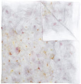 Faliero Sarti floral scarf - women - Polyamide/Cupro/Modal/Cashmere - One Size