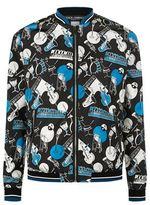 Dolce & Gabbana Music Print Bomber Jacket