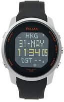 oversized watches for men shopstyle uk pulsar men s digital silicone strap oversize digital watch