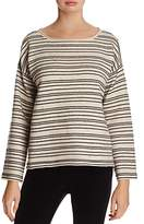 Eileen Fisher Striped Knit Top