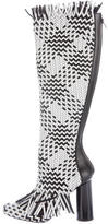 Proenza Schouler Woven Leather Knee-High Boots w/ Tags