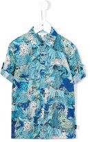 Little Marc Jacobs printed shortsleeved shirt