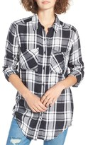 BP Plaid Tunic Shirt