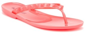 OLIVIA MILLER Women's Ghoby Jelly Flip Flop Sandals Women's Shoes