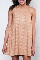 RVCA Printed Slip Dress