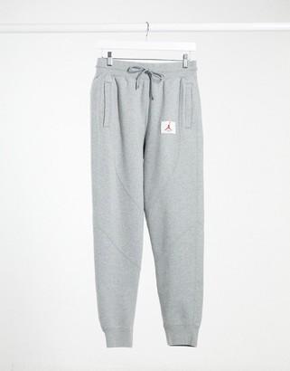 Jordan Nike Statement Essentials cuffed sweatpants in gray