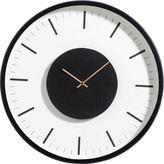 Nordal - Station Clock - White/Black