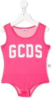 Gcds Kids Logo Print Bodysuit