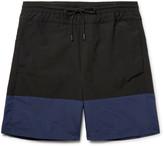 Public School - Wide-leg Long-length Colour-block Swim Shorts