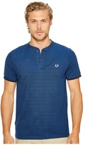 Fred Perry Pique Henley T-Shirt