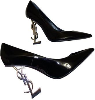 Saint Laurent Opyum Black Patent leather Heels