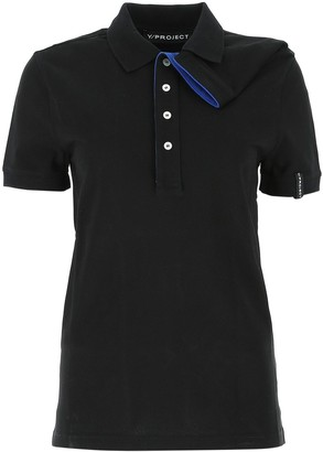 Y/Project Y / Project Asymmetric Polo Shirt