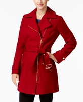 MICHAEL Michael Kors Petite Asymmetrical Walker Coat