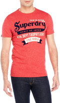 Superdry Flocked Trophy Label Tee