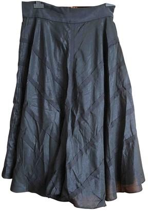 Cacharel Black Silk Skirts